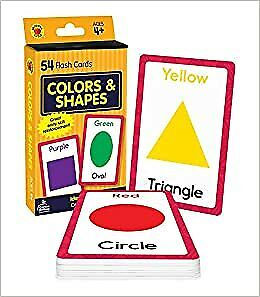 Colors And Shapes (Brighter Child Flash Cards) • 3.39£