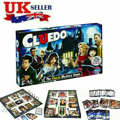New Cluedo The Classic Mystery Board Game Perfect Family Game Kids Gift Xmas UK • 13.85£