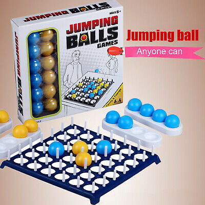 Jumping Balls Game Party Board Game Throwing Ball Parent-child Interaction Toy • 12.99£