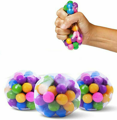 Squishy Sensory Stress Reliever Ball Toy Autism Squeeze Anxiety Fidget • 15.59£