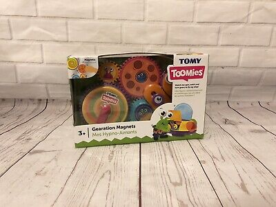 Tomy Toomies E72759C Gearation Magnets Childrens Interactive Gears Toy- 3 Years+ • 5.20£
