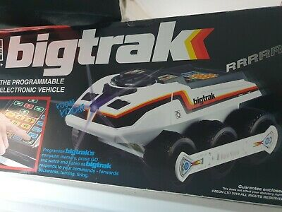 Big Trak - Electronic Programmable Vehicle • 5.50£