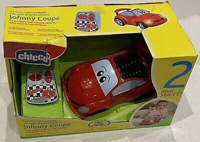 BN Chicco Johnny Coupe First Remote Control Car 2yrs+ • 14.80£