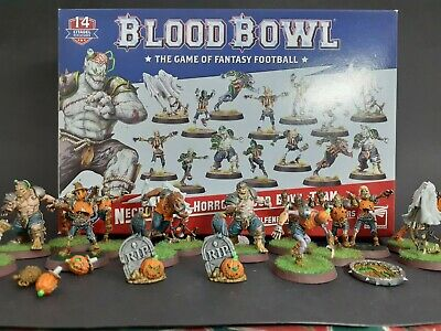 Blood Bowl Team Painted Necromantic Horrors • 113.11£