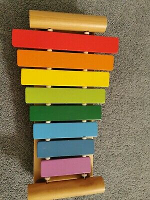 Child's Wooden Xylophone Musical Toy. Lovely Toddler Toy. • 1£