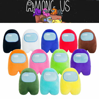 12 Colors Among Us Plush Soft Stuffed Toy Doll Game Figure Plushie Kids Toys NEW • 16.99£