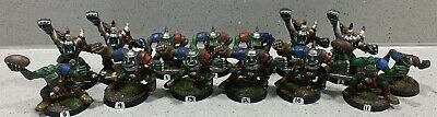 Blood Bowl 3rd Edition Orc Team • 40£