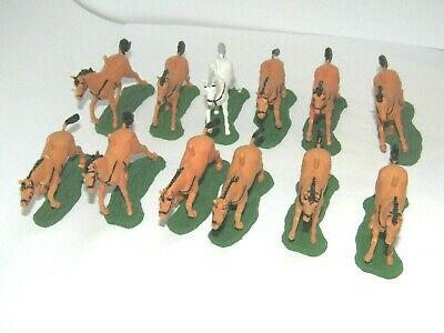 12 X BRITAINS HORSES 1/32 SCALE ALL EXCELLENT CONDITION NAPOLEONIC AWI ACW ERAS • 11£