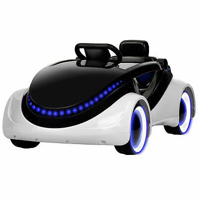 Kids Electric Ride On Cars W/ Remote Control, Story Playing, Safety Lock, White • 94.99£