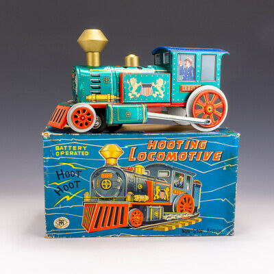 Vintage Modern Toys - Tinplate Battery Operated Western Pioneer Train - Boxed! • 59.99£