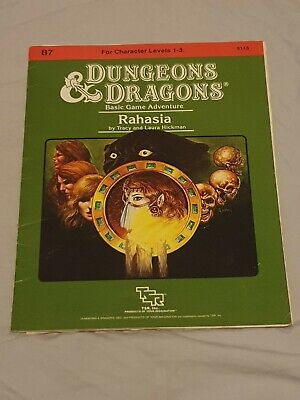 Dungeons & Dragons D&d Ad&d Tsr Rahasia B7 9115  Adventure Module Vintage • 4.60£