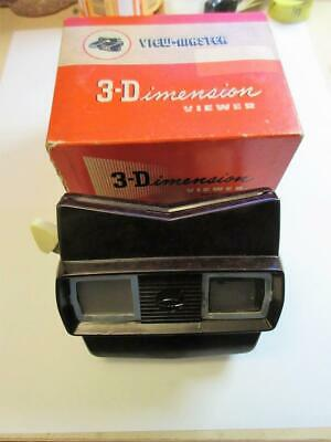 Vintage SAWYER'S Model E 3D VIEW-MASTER - Made In Belgium - BOXED! • 4.99£
