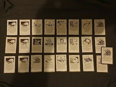 HeroQuest Heroquest - Full Set Of 64 Cards Complete 1989 Original VGC • 27.95£