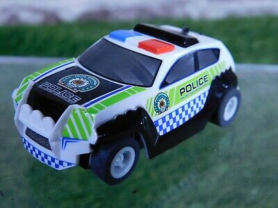 12V HORNBY MICRO Scalextric Police Car ~ Excellent Working Condition • 7.99£