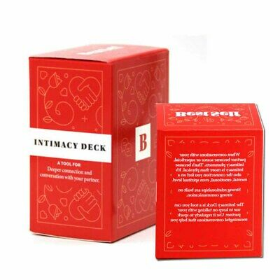 Intimacy Deck By BestSelf Couple Board Game Card Full English Strategy Game • 9.99£