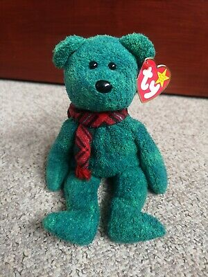 TY Beanie Babies ~ Wallace, Bear ~ With Tags • 1.99£