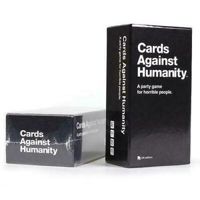 Cards Against Humanity UK Edition 2.0 600 Party Hot Game Card Full Base Set Pack • 17£