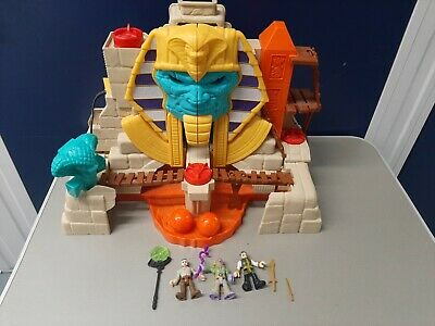 Fisher Price Imaginext Serpent Strike Pyramid Playset With Figures • 10.99£