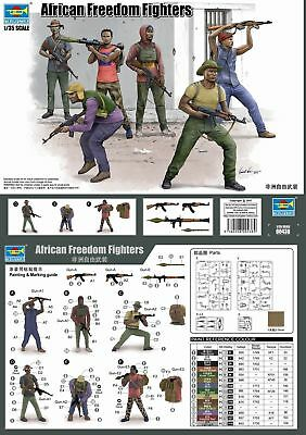 Trumpeter 00438 - 1:3 5 African Freedom Fighters - New • 10.46£