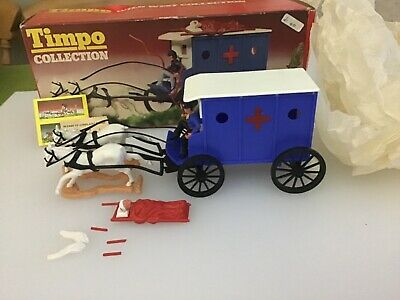 Timpo Collection Wild West Ambulance No 277 • 180£