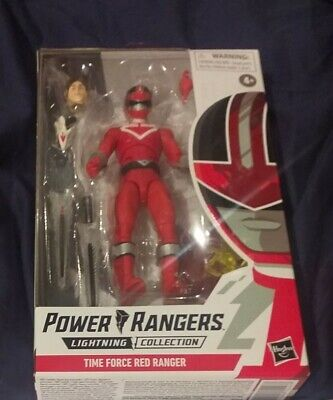 Power Rangers Lightning Collection 6-Inch Time Force Red Ranger Action Figure • 20£
