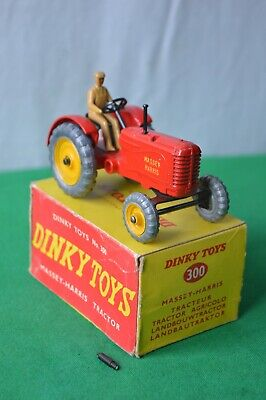 DINKY TOYS No 300 MASSEY HARRIS FARM TRACTOR BOXED  • 34.99£
