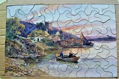 Vintage Tuck Wooden Jigsaw Puzzle. • 5£