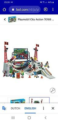 Playmobil City Action Skate Park • 20£
