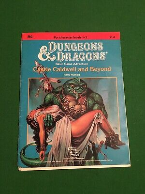 Dungeons And Dragons B9 Castle Caldwell And Beyond TSR, 9143, 1985 • 17£