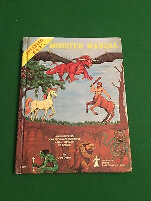 Advanced Dungeons And Dragons Monster Manual Book • 11.50£
