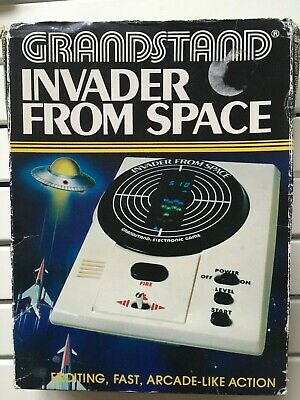 Grandstand Invader From Space Electronic Game - Excellent • 21£