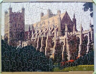 Vintage Chad Valley GWR Old Wooden Jigsaw Puzzle. • 8.50£