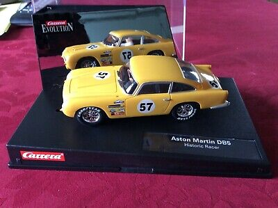 Carrera 1:32 Aston Martin DB5 With Box & Spare Braids - Excellent Item From Coll • 40£