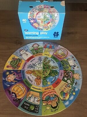 Seasons Puzzle By Boots Learning Through Play 3+ Years • 3.99£