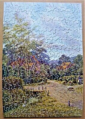 Vintage Chad Valley Old Wooden Jigsaw Puzzle • 5£