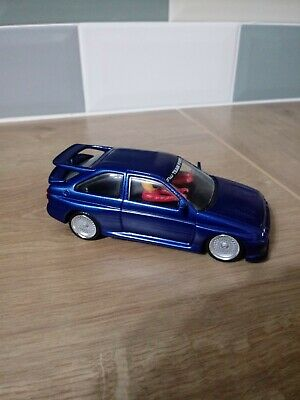 Scalextric Ford Escort Cosworth Performance Blue • 33£