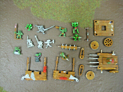 Warhammer OOP Metal Snotling Pump Wagon + 12 Snotlings • 35£