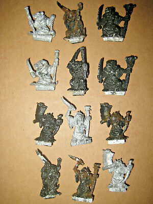 Warhammer Metal Plague Monks Skaven Ratmen X12 • 25£