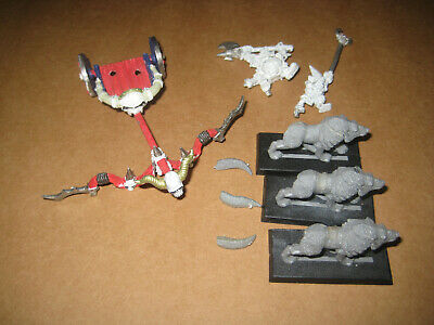 Warhammer Grom The Paunch Chariot Orc And Goblin • 30£