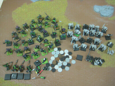 Warhammer Plastic Night Goblins X40 + Common Goblins X22 • 35£