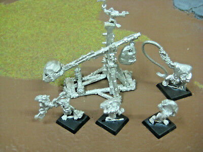 Warhammer Metal Orc And Goblin Rock Lobba • 25£
