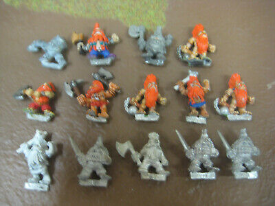 Warhammer OOP Metal Dwarf Slayers X14 • 40£