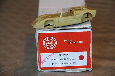 Ford MK II Spyder 1er 12h De Sebring 1966 Kit 1:43 Mini Racing • 26.62£