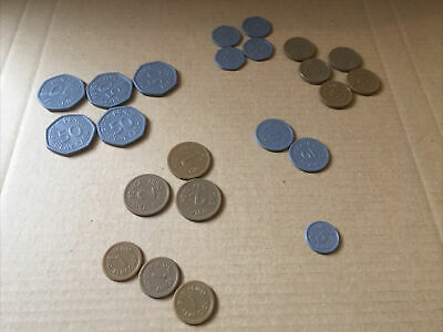 Small Bag Of Play Coins - Money For Shopping Till Pretend Play • 1.50£