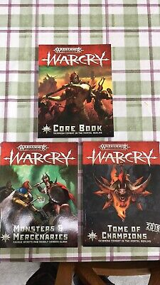 Warcry Rules Books • 45£