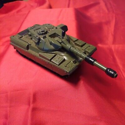 DinkyToy Cheiftain Tank155mm. Mobile Gun -turret Raises Via Turning Access Cover • 60£