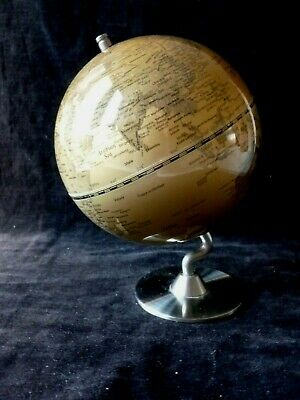 Golden Globe Brushed Metal Stand For Desk • 5.99£