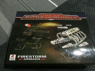 Spartan Games - Firestorm Armada - Battle For Valhalla - New, Rare And Oop • 150£