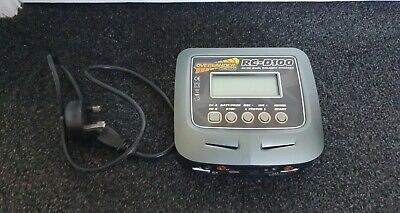 Overlander D100 V2 AC DC Dual Battery Charger Used Untested  • 25.69£