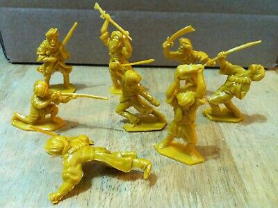 LONE STAR AFGHAN 60mm TRIBESMEN PRODUCED BY TOYWAY IN 1994, FULL SET MINT, NEW! • 5.99£